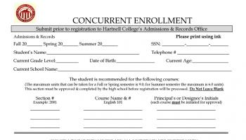 Seniors: Hartnell College Concurrent Enrollment Opportunity